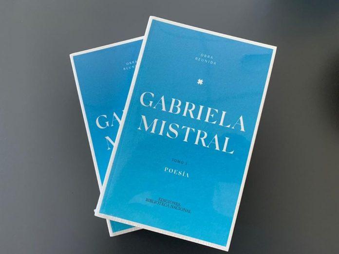 Lector Obra Reunida Gabriela Mistral Foto Biblioteca Nacional Digital